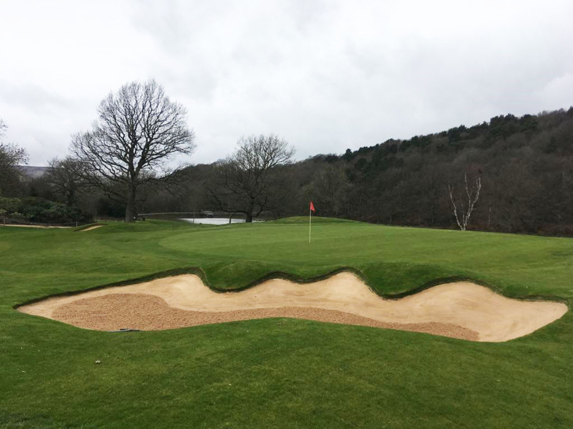 Green 12 - ©Sam Wardill, Course Manager at Meltham GC