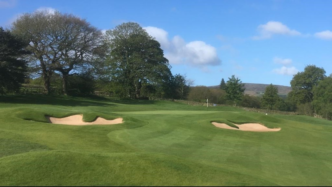 Green 14 - ©Sam Wardill, Course Manager at Meltham GC