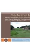 Water Scarcity & Golf